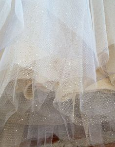 Glitter Gold Sweetheart Strapless Tulle Dress by Ouma on Etsy