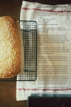 Brioche Bread #recipe #bread #brioche #baking #food