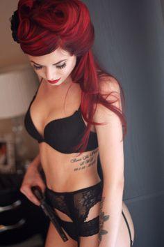 I love red hair!