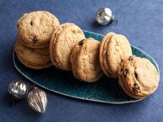 Cherry White Chocolate Almond Sandwich Cookies/ Jeff Mauro