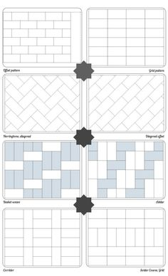 subway tile applications. I wish we had done herringbone pattern!