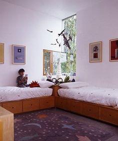 bed design, kid bedroom, boy rooms, kid rooms, bunk bed, twin beds, kids, shared bedrooms, bedroom designs