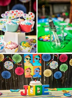 Pop Art Party with Lots of Cute Ideas via Kara's Party Ideas | KarasPartyIdeas.com #ArtParty #Party #Ideas #Supplies (1)