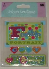 """Jolee's Boutique """"Cozy Home"""" Scrapbook Stickers Buy 1 Get 1 FREE Ship FREE"""