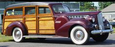 1940 Packard Woody Wagon
