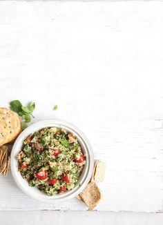 Toasted Quinoa Tabbouleh