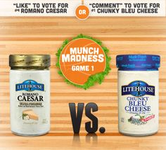 Let the games begin! Vote now on Pinterest for a chance to win over $500 of culinary prizes! You can also vote on Facebook here: http://ow.ly/uIi5e #LHMunchMadness