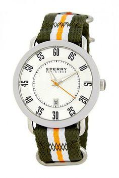 Men's Silver Sperry Watch