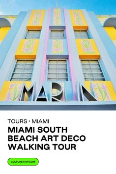 Looking for things to do in Miami? Love Art Deco? Click to read more. . . . #CultureTrip #ForCuriousTravellers #Miami #ArtDeco #Architecture #1920s #1930s #SouthBeach #WalkingTours #Florida