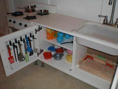 IKEA hacked play kitchen.