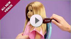 American Girl Doll Hair & Skin Care | American Girl ~ Lots of Video Tutorials! american girl