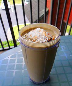 Hungry Gator Gal: Smoothie Week - Almond Joy Protein Smoothie