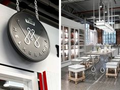iv graphic design, interior, scandinavian logo design, ident, behance, logo idea, brand, concept stores, tine melkerampa