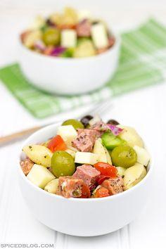 recipe salad, pasta salad, antipasto salad, barbecu, dinner recipes, olive salad, delici pasta, picnic, italian foods