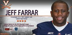 Virginia Cavaliers Football - Signing Day Player Card