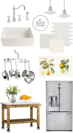 Kitchen details. White + stainless + lots of lovely details.