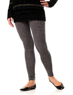 Motherhood Maternity: Under Belly Jersey Knit Stretch Fabric Maternity Legging