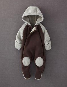 Mini Boden Fleece All-in-one