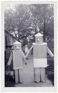 vintage robot - halloween costume