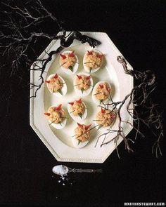 Devilish Eggs Recipe #FallingforFall