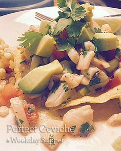 Perfect Ceviche #Wee