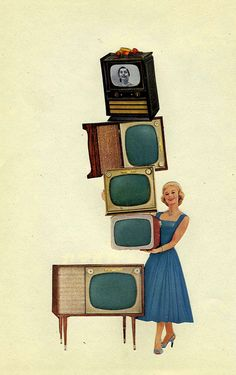 The TV Challenge by Kollage Kid on Flickr.