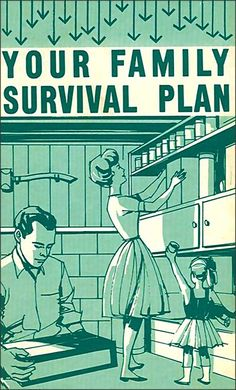 Illustration: Family Plan c.1950s U.S. Dept. of Agriculture/Office of Civil Defense