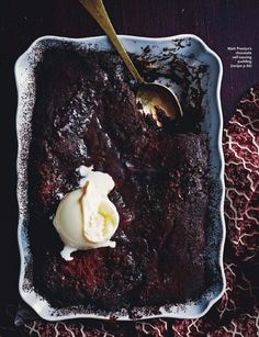Chocolate w Self Saucing Pudding via Delicious June 2014
