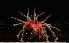 U.S. Gymnasts At 2012 Olympic Trials Captured In Stunning Multiple Exposure Images