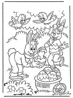 Paas konijnen