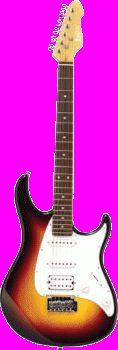 Monterey Mgs-12sb Sunburst Electric Guitar $116 from JB HiFi