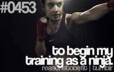 Reason to be fit...