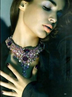 ayesha thapar models #jewelry  for vogue india