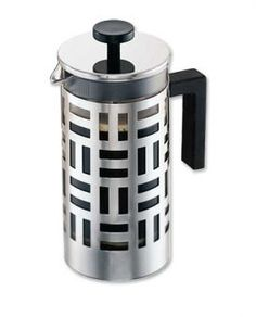 I love our Bodum French Press coffee maker....