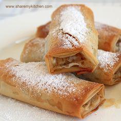 tikvenik: pumpkin and walnut banitsa- Bulgarian philo dough pastry
