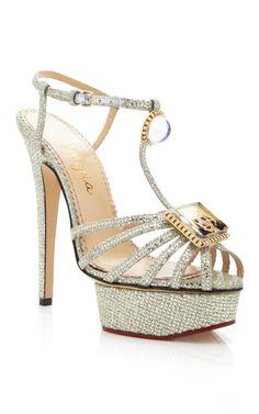 Platinum Leading Lady Sandal