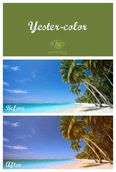 With a single click go back to the 1960s with our Yester-color photo effect.