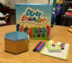 Dirty Laundry is a fun game to help students expand friend files and think about others.