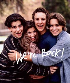 Boy Meets World is getting a SEQUEL series, focused on the daughter of Cory & Topanga! YES!!!