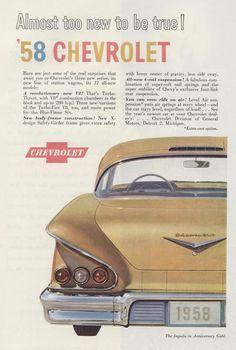 '58 Impala ad
