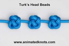 How to tie a Turk's Head and other animated knot tying tutorials