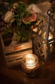 The beauty of soft candlelight ~❥