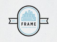 Dribbble - Frame by Tim Boelaars. #logo