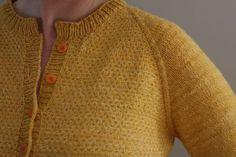 Sunnyside Cardigan by Hannah Fettig - knit with The Fibre Company Savannah #knitting #cardigan #sweater