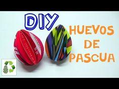 96. RECICLAJE DE PAPEL REVISTAS (HUEVOS DE PASCUA) DIY EASTER EGGS (+lis...
