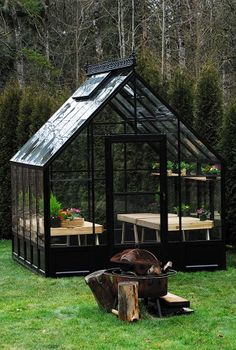 Black greenhouse