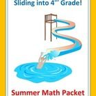 Learning shouldn't end at the end of the year!  Stop the summer slide with this Common Core aligned math review packet!  This is a black and white,...