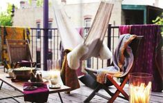 Apartment Patio Decorating on Pinterest