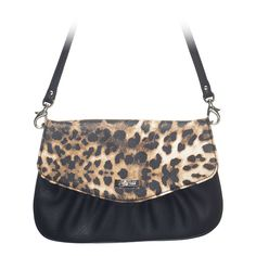 Jane Clutch in Leopa