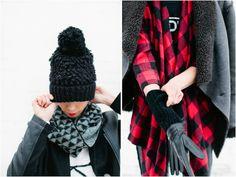 Parc Boutique Winter Lookbook //  Photo via Canary Grey